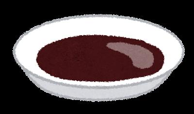 醤油皿のイラスト