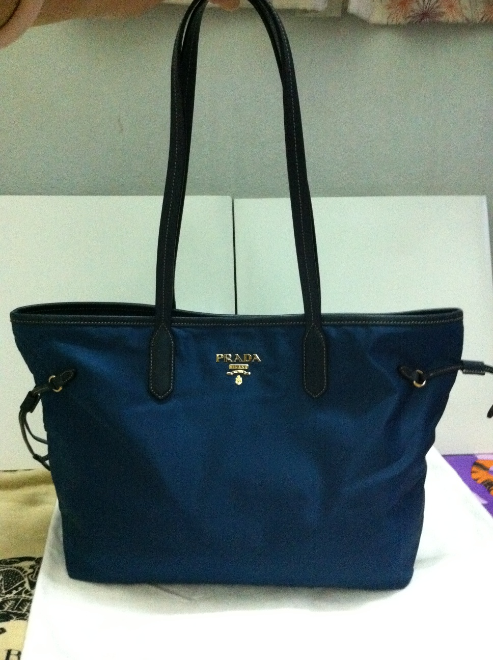 faux prada purse - Authentic Luxury Items @ Bargain Price: Prada BR4001 Nylon Dark ...