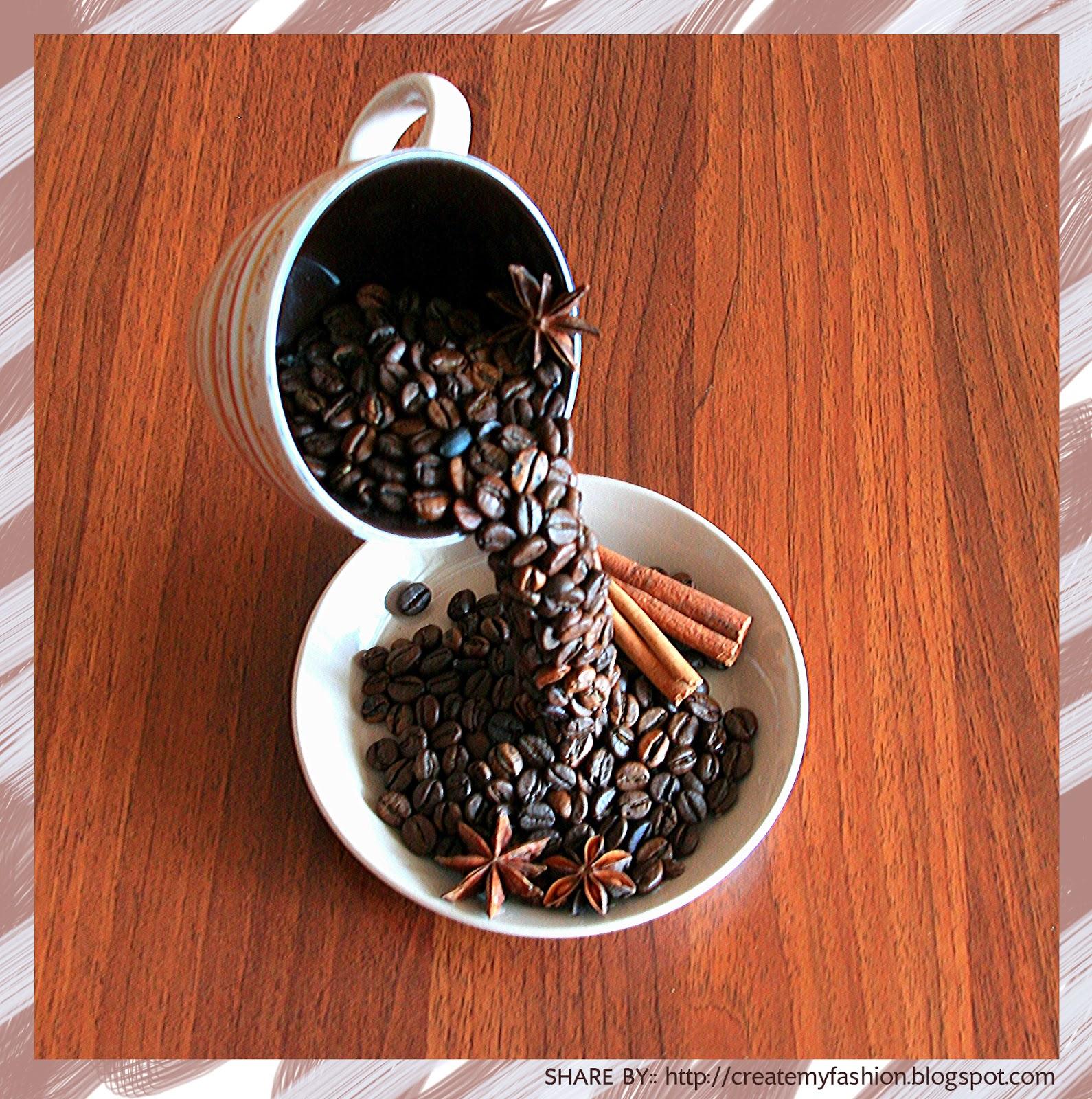งานประดิษฐ์โมเดลจำลองแก้วกาแฟ
