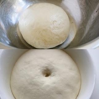 Cách làm bánh bao kim sa nhân trứng sữa 1