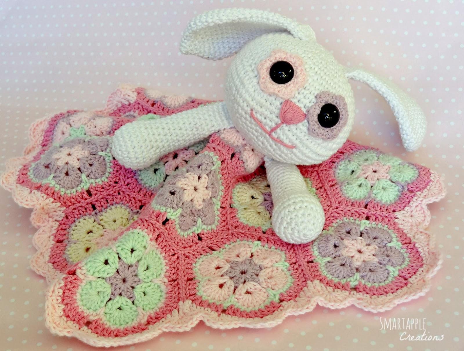 Smartapple Creations - amigurumi and crochet: Crochet bunny lovey ...