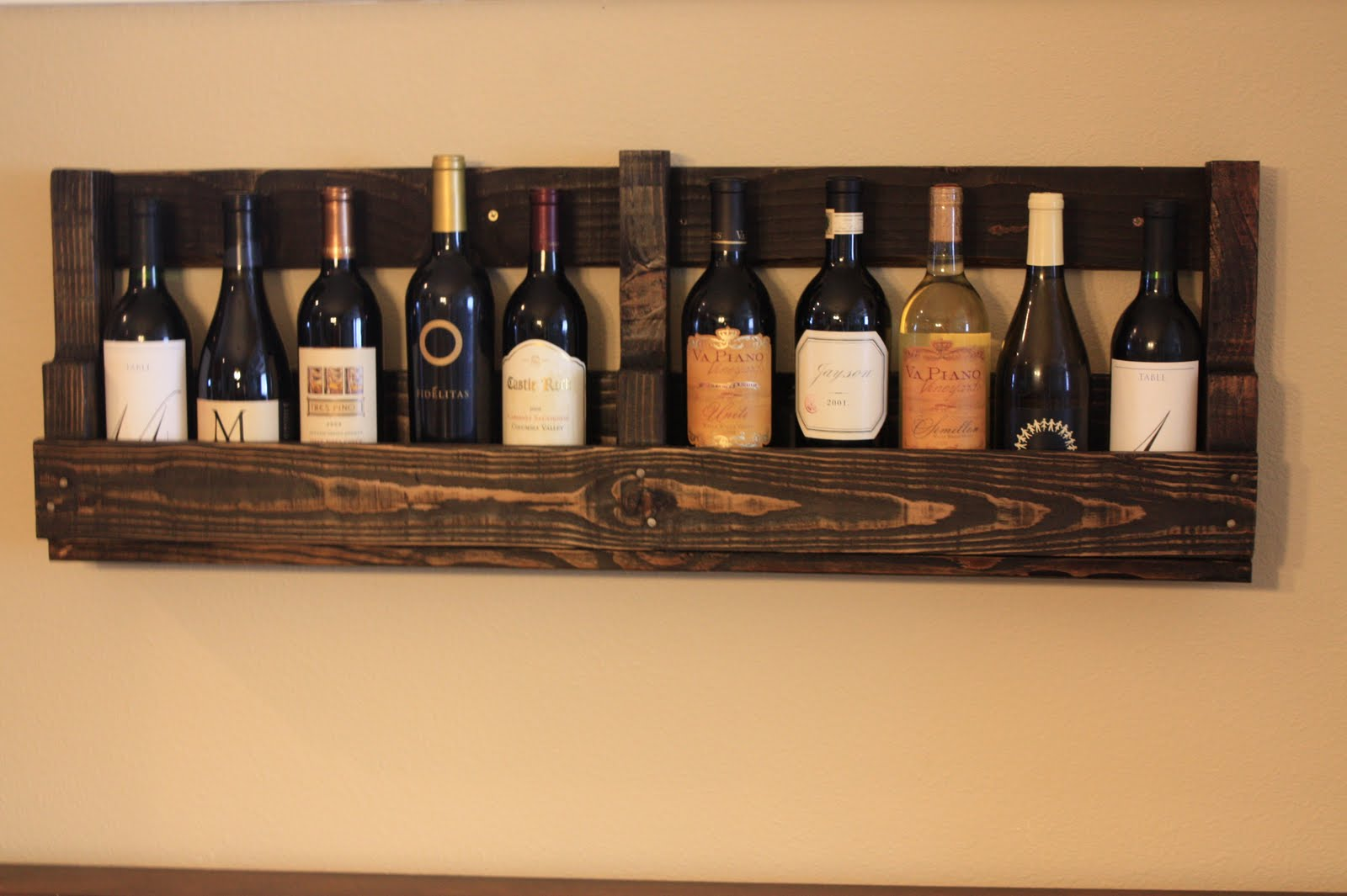 Pallet Wine Rack Furniture Collection