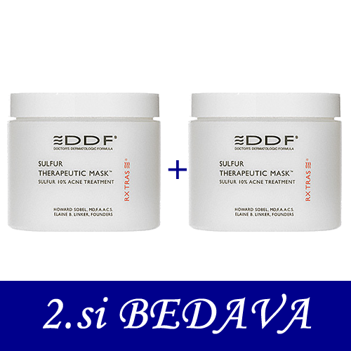 DDF Sulfur Therapeutic Mask 113 gr 2.si BEDAVA