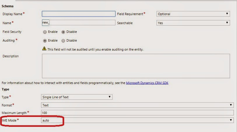 Ms Crm Tutorials Ime Mode In Ms Crm