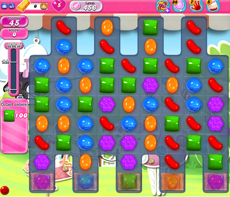 Candy Crush Saga 456