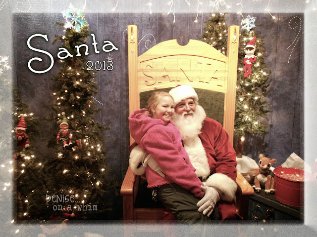 Santa Visits on the Lowell Showboat at Christmas via http://deniseonawhim.blogspot.com