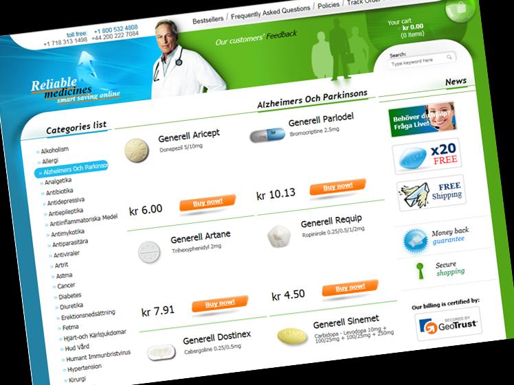 Xalatan medicin på nätet