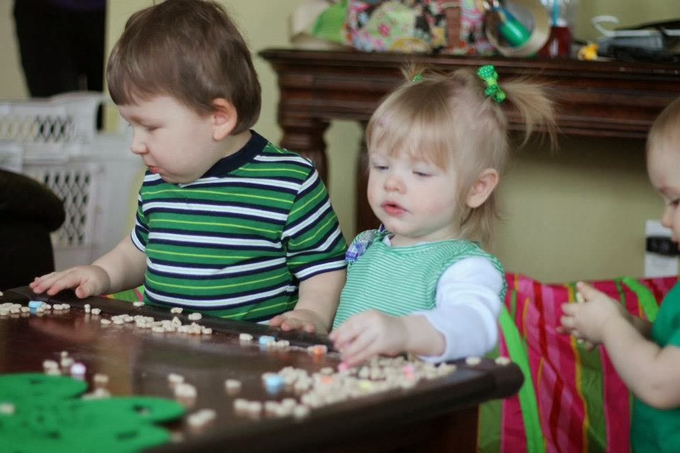 st. patricks day party for toddlers