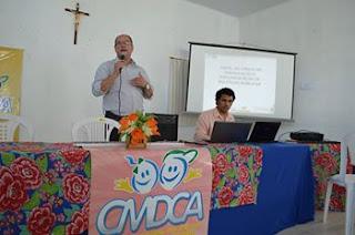 Prefeitura de Delmiro Gouveia realiza capacitação  sobre as competências e atribuições do CMDCA.