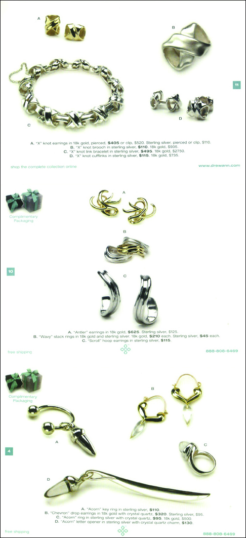 Drew Ann Dunigan Jewelry Catalog