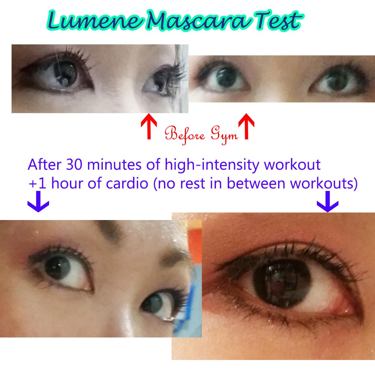 lumene mascara test