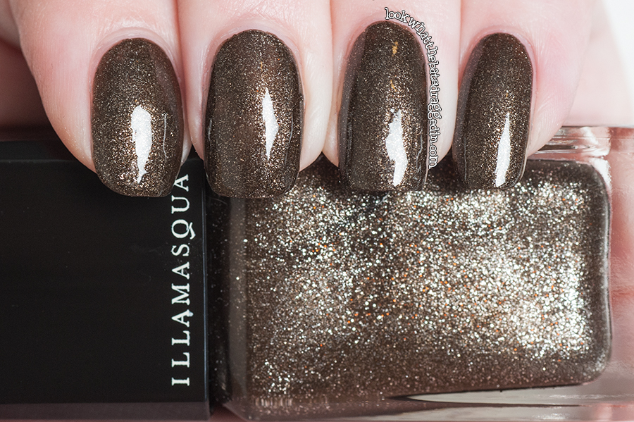 Illamasqua Creators collection Fusion nail polish swatch manicure