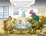 HUMOR GRAFICO. imagenes chistosas con humor grafico de dos amigos hablando