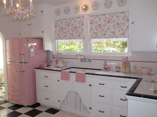decoracao cozinha fofa : decoracao cozinha fofa: de cozinhar em uma cozinha tão cute assim e vocês cozinhariam