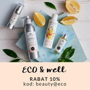 RABAT 10%, KOD: beauty@eco