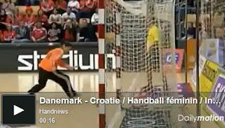 No fue gol por usar mucho pega | mundo handball - sección multimedia