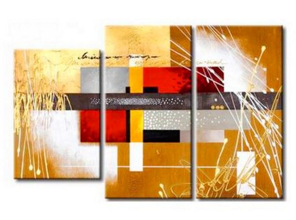 Cuadros pinturas oleos abstractos leo for Imagenes cuadros abstractos modernos