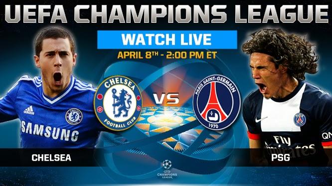 Prediksi Liga Champions : Chelsea vs PSG 12 Maret 2015
