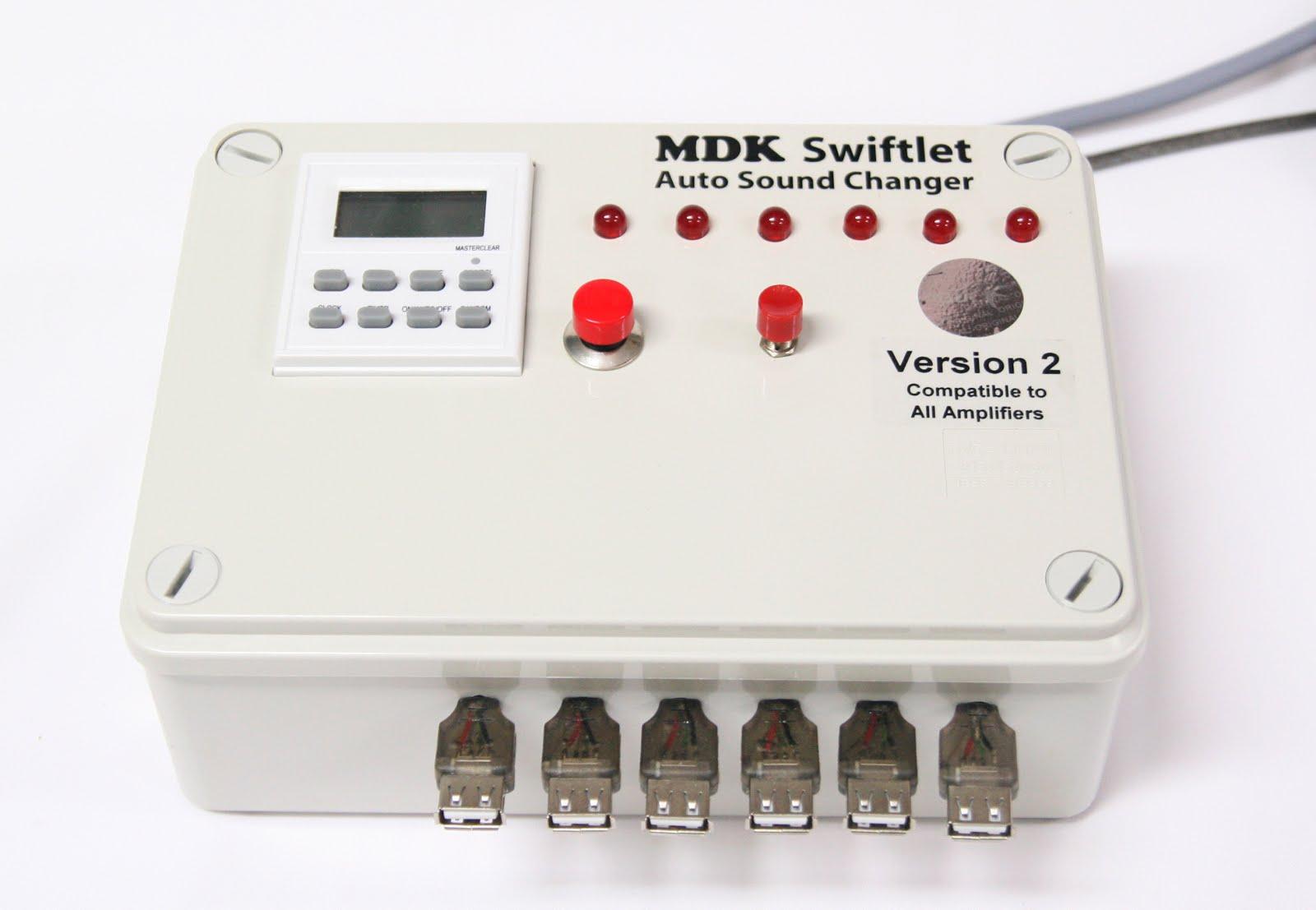MDK Auto Sound Changer 声音自动更换机