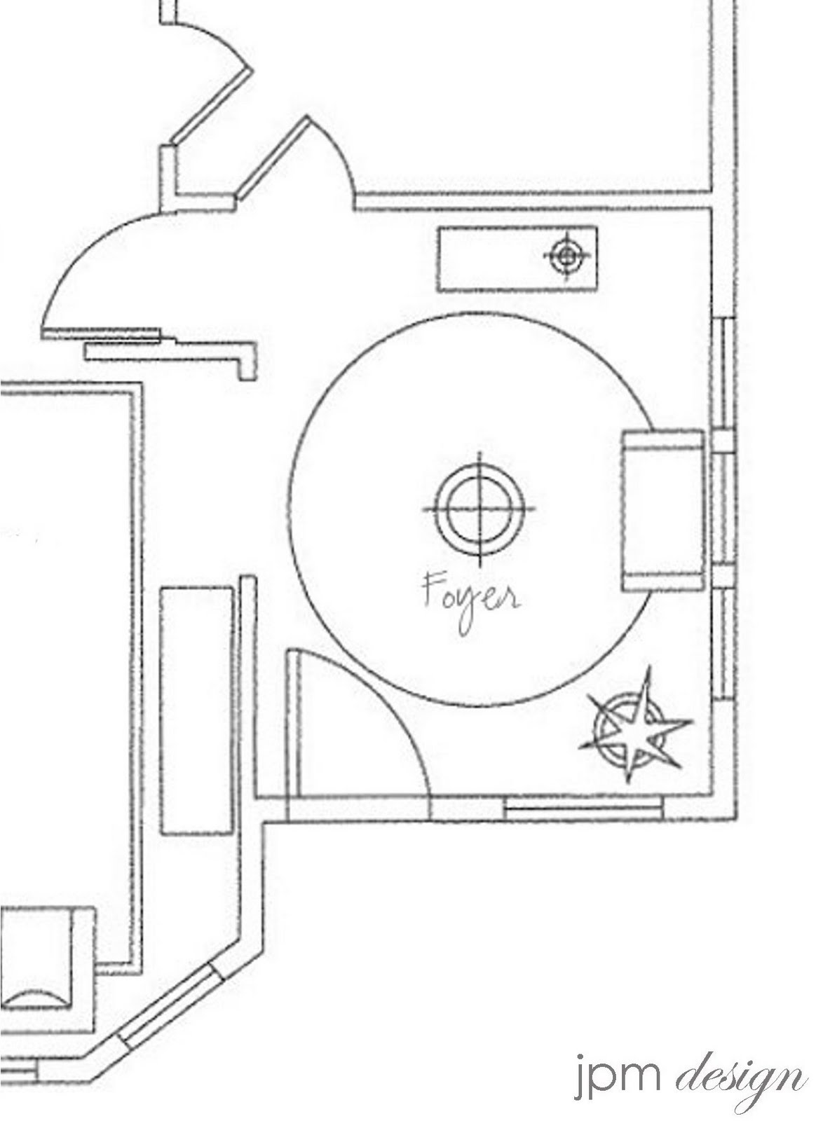 Foyer Plan : Jpm design project update