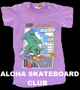 ALOHA SKATEBOARD CLUB ON THE INSTA