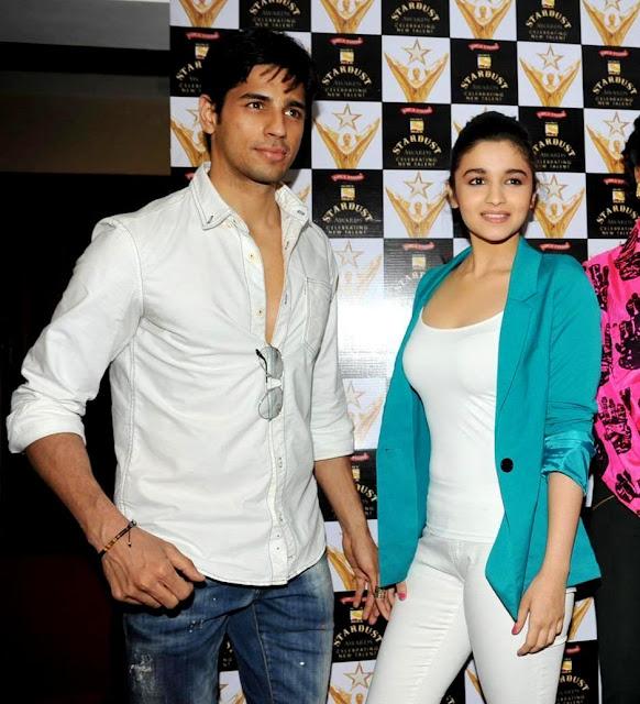 Alia Bhatt Stardust Awards 2013 Mumbai