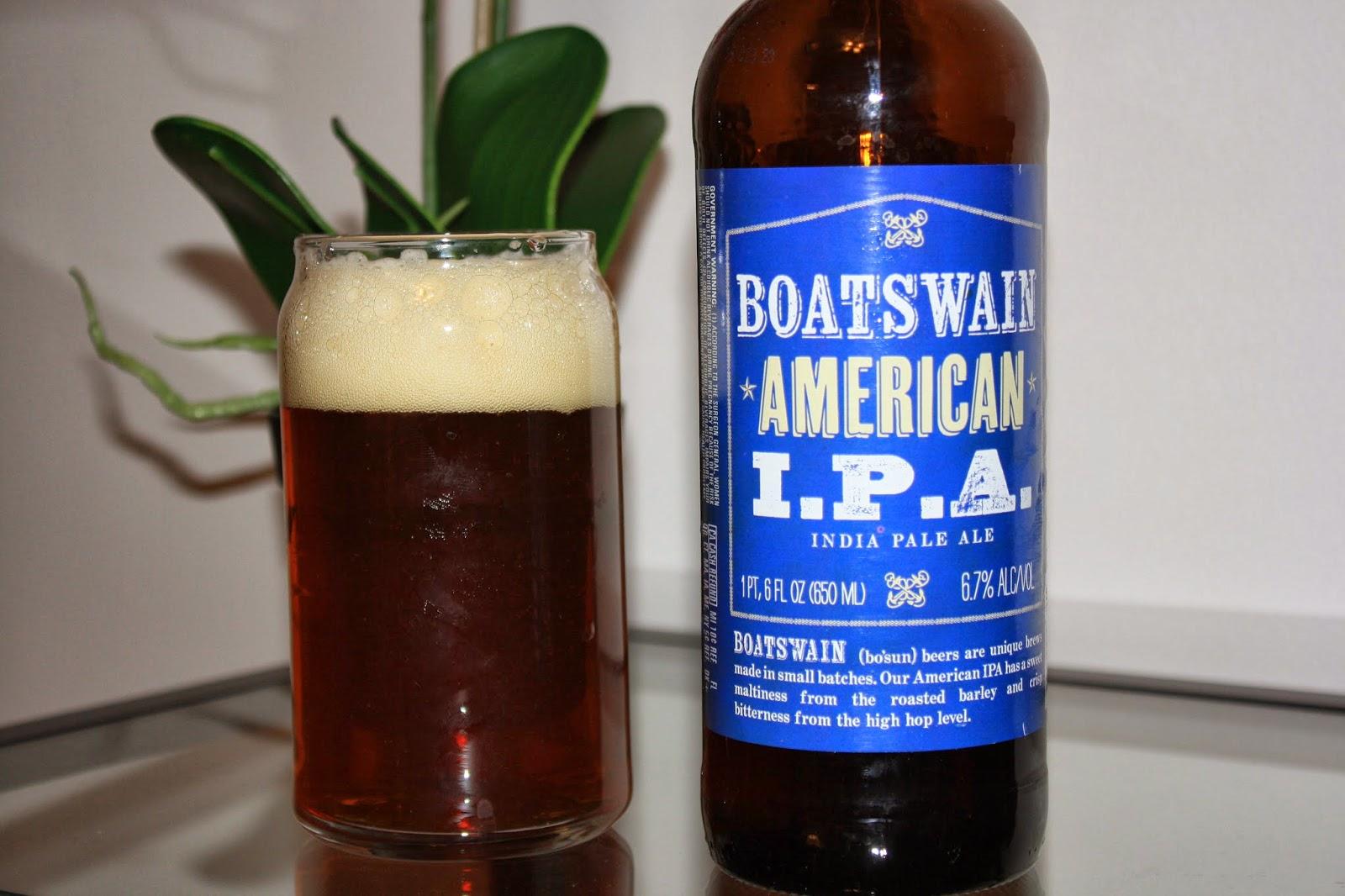 Trader Joe's, Boatswain IPA, India Pale Ale
