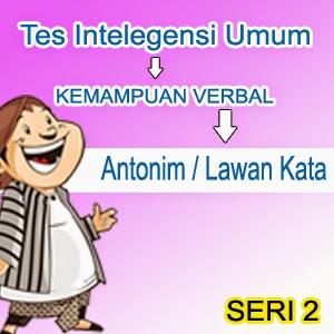 Tes Antonim / Lawan Kata Online Tes Intelegensi Umum TIU tes Kemampuan Verbal