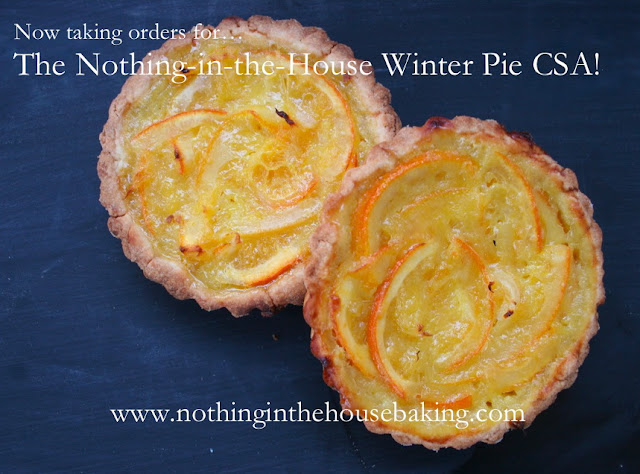 Nothing in the House Pie CSA