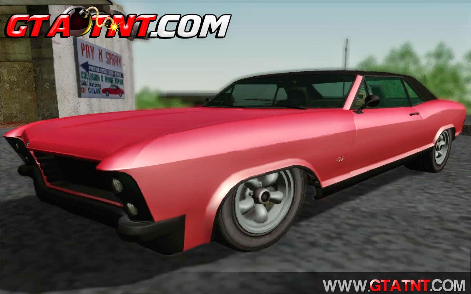 Buccaneer Convertido do GTA V para GTA San Andreas
