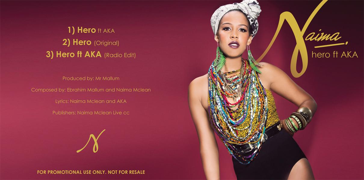 Infidels News: Malikah Hajee styles album cover for Naima ...