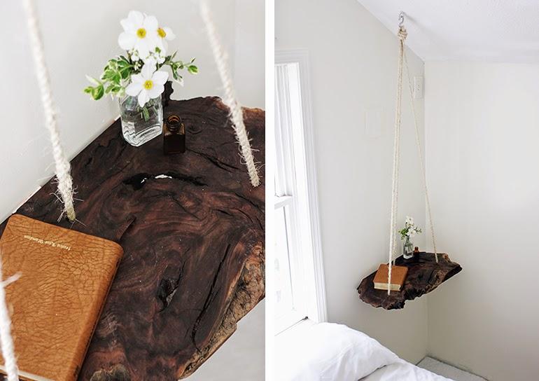 Diy mesa colgante de madera | DEF Deco - Decorar en familia1