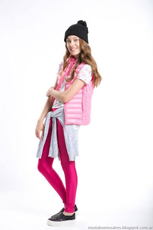 Chalecos inflables invierno 2015 moda juvenil marca Como quieres.