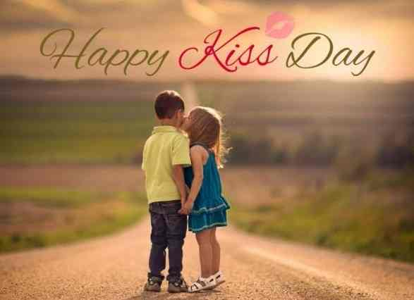 Famous Kiss Day Wishes Pictures for free download