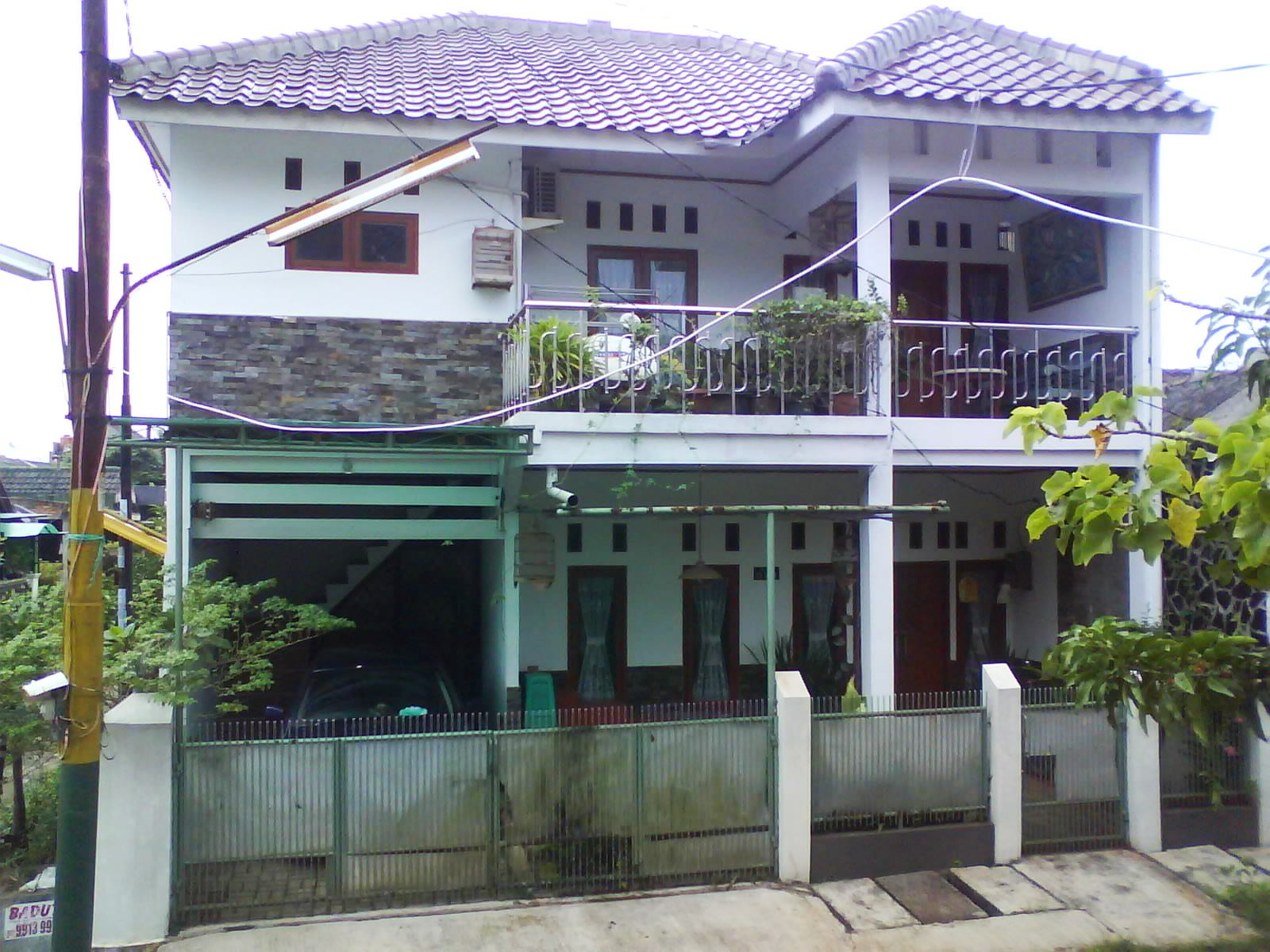 Desain Atap Rumah Tingkat Mewah
