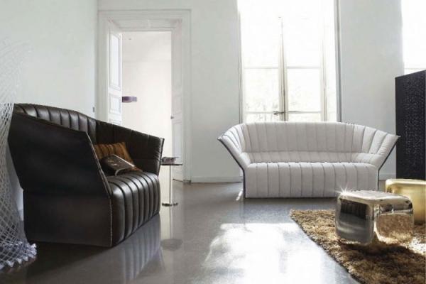 sof s para sala de estar decora o e ideias. Black Bedroom Furniture Sets. Home Design Ideas