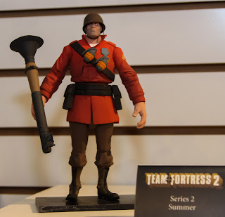 NECA 2013 Toy Fair Display Pictures - Team Fortress 2 figures