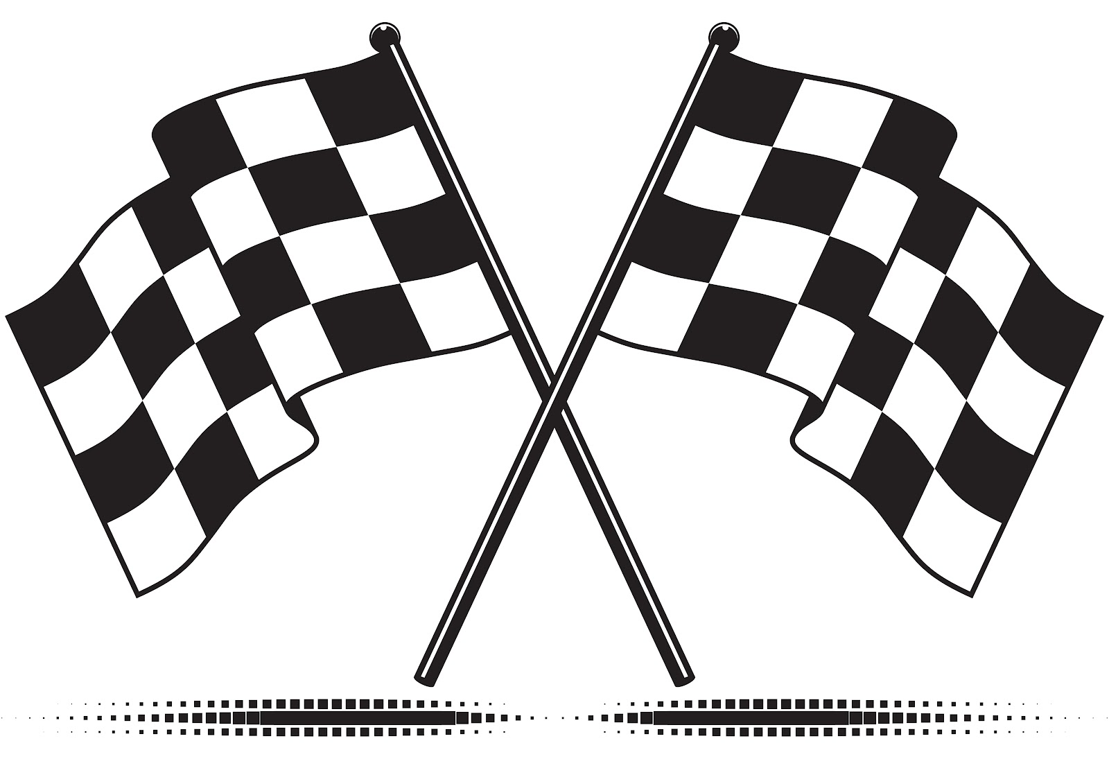 free race car flag clip art - photo #42