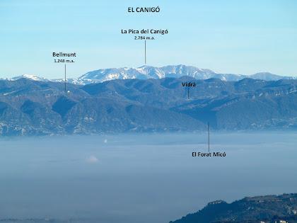 El Canigó des del Mirador del Pirineu