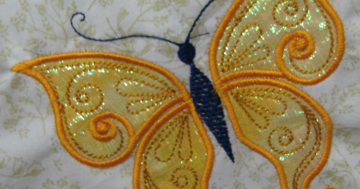 A quilter doing machine embroidery secrets