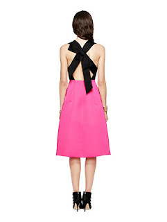 Kate Spade Color Block Bow Dress