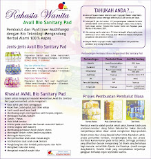 Khasiat &amp; Manfaat AVAIL Bio Sanitary Pad