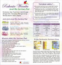 Khasiat & Manfaat AVAIL Bio Sanitary Pad