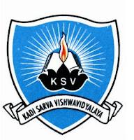 KSV Results 2014 | ksvuniversity.org.in