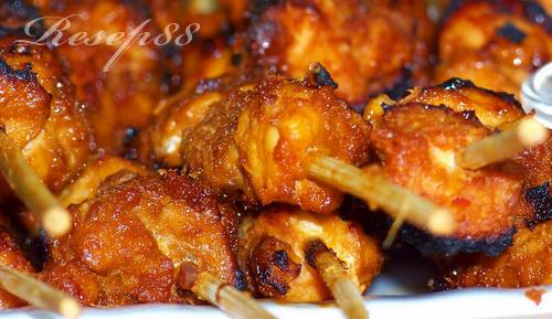 Sate Ayam Sederhana
