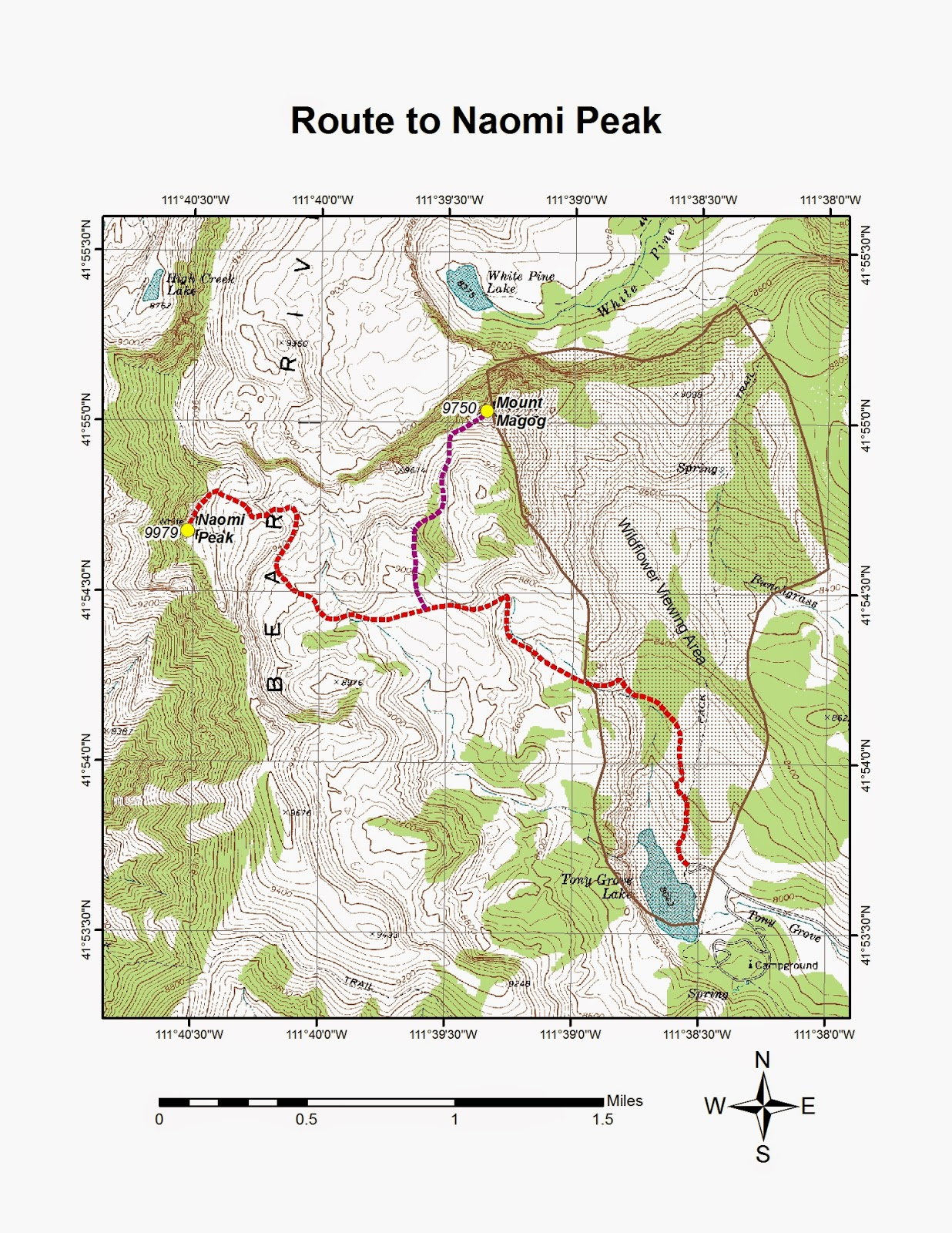 to reach the naomi peak trailhead from main street in logan turn east onto 400 north u s 89 and drive approximately 21 7 miles up logan canyon to the