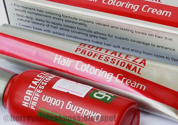 Hortaleza Professional Hair Coloring Cream Review The Beauty Bin