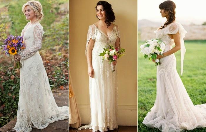na sua vida: Os vestidos de noiva para mulheres com mais de 40 anos