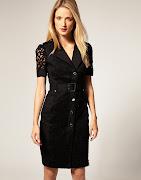 Vestido Preto com renda (vestido preto com renda )