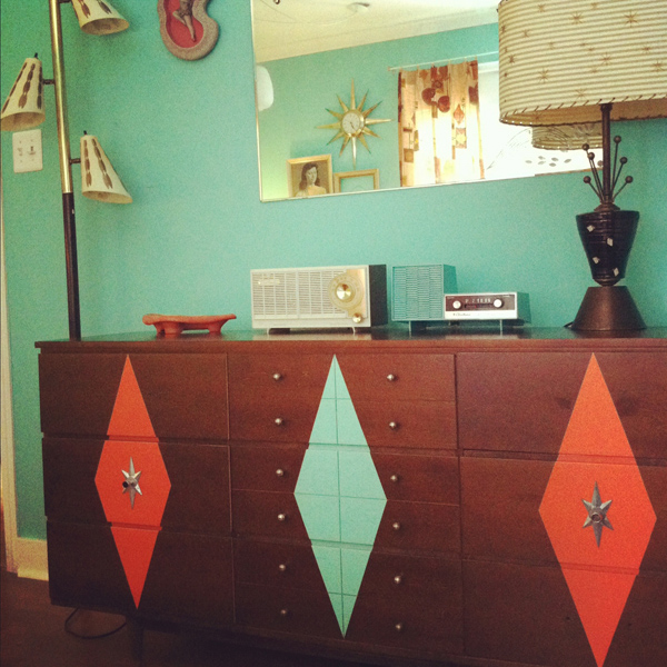 Oh So Lovely Vintage Dresser Makeover Before After